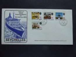 SEYCHELLES SPECIAL POSTMARK ROYAL VISIT - Seychelles (1976-...)
