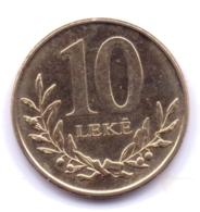 ALBANIA 2018: 10 Leke, KM 77a - Albania