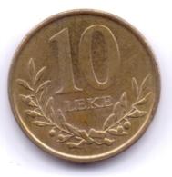ALBANIA 2013: 10 Leke, KM 77a - Albania