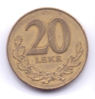 ALBANIA 2000: 20 Leke, KM 78 - Albania
