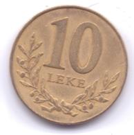 ALBANIA 2000: 10 Leke, KM 77 - Albania