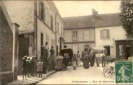 FRANCE - Carte Postale - Villecresnes - Rue De Mandres ( Animée ) -  L 68072 - Villecresnes