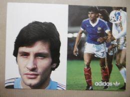 Football Joueur De Foot SOLER Gérard FFF Avec ADIDAS - Soccer