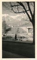 Snapshot Breil Sur Roya Alpes Maritimes Massif Neigeux Pont Balustre Vintage - Orte