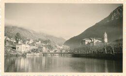 Snapshot Breil Sur Roya Alpes Maritimes Vue Panoramique Pont Falaises Vintage - Orte
