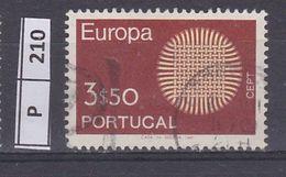 PORTOGALLO     1970Europa 3,50 Usato - Used Stamps