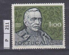 PORTOGALLO     1970Anniversario Carmona 1 Usato - Used Stamps