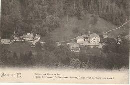 Au Bouillet Sur Bex Suisse (1691) L'Entrée Des Mines De Sel Et Le Restaurant - VD Waadt