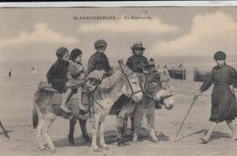 BLANKENBERGE / WANDELING MET EZELTJES - De Haan