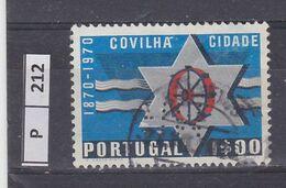 PORTOGALLO     1970Città Di Covilha 1 Usato - Used Stamps