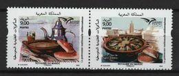 Maroc - Morocco (2020) - Set -  /  Euromed Joint - Food - Gastronomie - Gastronomy - Gastronomia - Gezamelijke Uitgaven