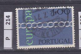 PORTOGALLO     1971Europa 1 Usato - Used Stamps