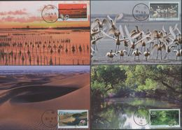 2020 R.O CHINA(Taiwan)- Maximum Cards -Taijiang National Park Postage Stamps (8 Pcs.) - 1945-... Republic Of China