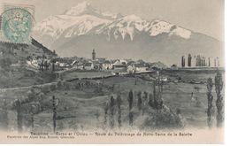 CPA 38 - CORPS Et L'OBLOU - Route Du Pèlerinage De Notre Dama De La Salette - Corps