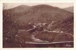 48 LOZERE Entrée Du Village De VILLEFORT Par La Route De Mende - Villefort