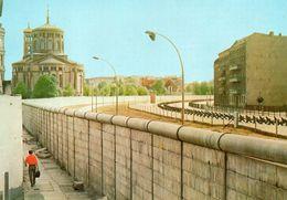 BERLIN - Mauer Am Bethaniendamm Mit St.Thomaskirche - Kreuzberg