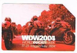 TELECOM ITALIA - C.& C. F3937 - 2004  WDW WORLD DUCATI WEEK    -  USATA - Italia