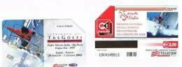 TELECOM ITALIA - C.& C. F3734  - REGATA TRE GOLFI: CAPRI NAPOLI 2003      -  USATA - RIF. CP - Italia