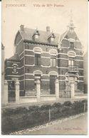 Cpa Jodoigne Villa De Melle PASTUR  1910 + Timbre Taxe, PRIX FIXE,en Vente Une Seule Fois !!! 3 Euros (2 Scan) - Jodoigne