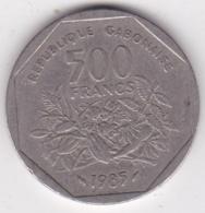 Republique Gabonaise 500 Francs 1985 Banque Des États De L'Afrique Centrale - Gabon