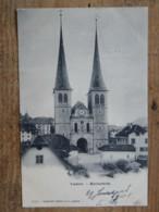 CPA SUISSE - Kathedrale - LU Lucerne