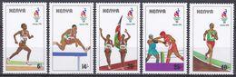 Kenia Kenya 1996 Sport Spiele Olympia Olympics IOC Atlanta Leichtathletik Athletics Laufen Boxen Boxing, Mi. 678-2 ** - Kenia (1963-...)