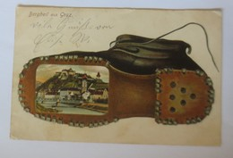 Österreich, Graz, Bergheil Aus Graz, Schuhe,   1907 ♥ (59263) - Unclassified
