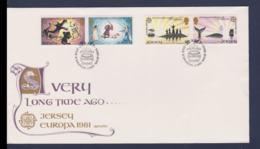 Jersey 1981 FDC Europa CEPT (NB**LAR9-176) - Europa-CEPT