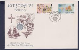 Isle Of Man 1981 FDC Europa CEPT (NB**LAR9-176) - Europa-CEPT