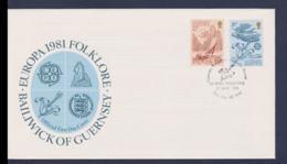 Guernsey 1981 FDC Europa CEPT (NB**LAR9-176) - Europa-CEPT