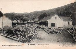 LA BRESSE-88-SCIERIE- - France