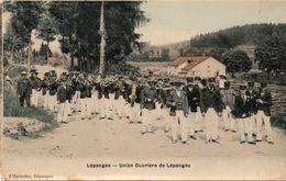 LEPANGES-88-FANFARE-UNION OUVRIERE - France