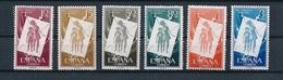 España 1956. Pro Infancia Hungara. Ed 1200 / 1205. MNH. **. - 1931-Heute: 2. Rep. - ... Juan Carlos I