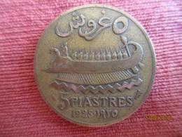 Liban. 5 Piastres 1925 - Libano