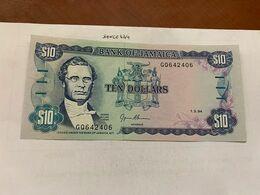 Jamaica 10 Dollars Uncirc. Banknote 1994 - Giamaica