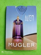 MUGLER Thierry   - Carte Parfumée PUFFER - Duftkarten