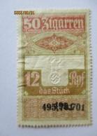 Rauchen, Gebührenmarke Zu 50 Zigarren Ca. 1940 (22840) - Deutschland