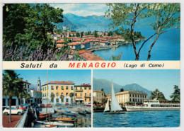 LAGO   DI   COMO   SALUTI  DA  MENAGGIO      (VIAGGIATA) - Other Cities