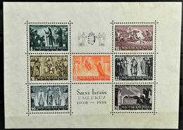 1938 900. Todestag Des Heiligen Stephan Postfrisch** MiNr: Block 4 - Unused Stamps