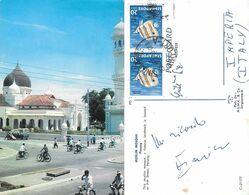 Mosque In Pitt Street. Penang. Singapore. Viaggiata 1964 - Singapur