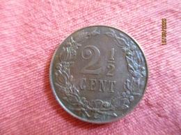 Netherland: 2 1/2 Cents 1906 - 2.5 Cent