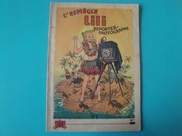L'espiègle Lili Reporter-photographe E.O. 1954  B. Hieris Bon état - Lili L'Espiègle
