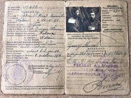 Carte D'identité Militair WW1 - Militair Paspoort Soldaat Guwy Marcel ° 24/5/1921 Watou - 1914-18