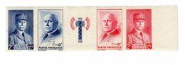 FRANCE - Maréchal Pétain - Secours National - Y&T N° 568 à 571 - Neuf - Unused Stamps