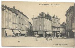 09-SAINT GIRONS-Place Du Centre... Animé - Saint Girons