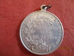 Suisse: Concours International De Musique - Genève 16 - 18 Août 1902 - Professionals / Firms