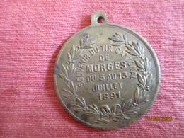Suisse: Souvenir Du Tir Cantonal De Morges 5 - 13 Juillet 1891 - Professionals / Firms
