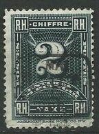 REPUBLIQUE D'HAITI 1898 Taxe - N° 1  Oblitere  Voir Scan Annonce - Haití