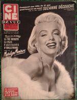 Revue Ciné Revue  - Marilyn Monroe - Octobre 1954 - Très Bon état - Cine