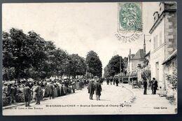 St Aignan Sur Cher: Avenue Gambetta Et Champ De Foire - Saint Aignan